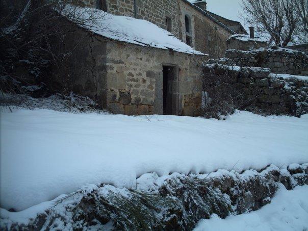 Neige à Javols